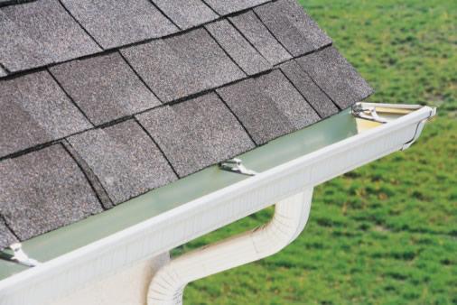 aluminum gutters picture