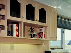Featured Arched Cabinets