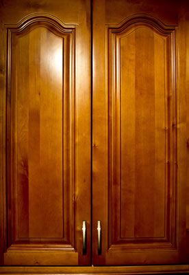 Arched cabinets picture
