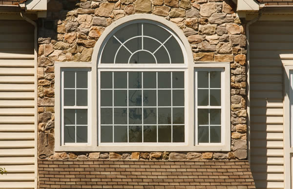 Circle top windows picture