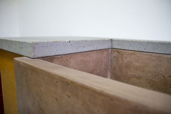 Concrete countertops picture