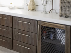 Featured Flat Panel Cabinets