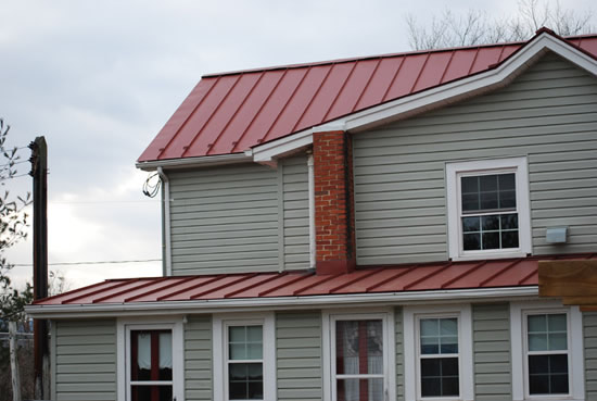 Metal roofing picture