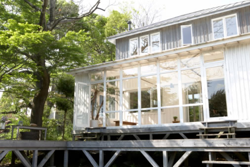 Partial glass sunrooms picture
