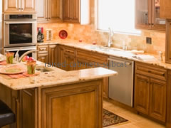 Featured Raised Cabinets