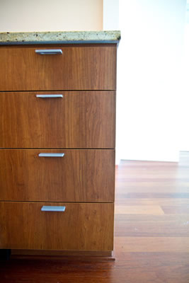 Recessed cabinets picture