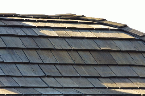 Shake roofing picture