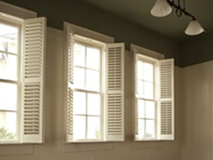 Window shutters selection tips cost estimates improvement center for Window shutters interior prices