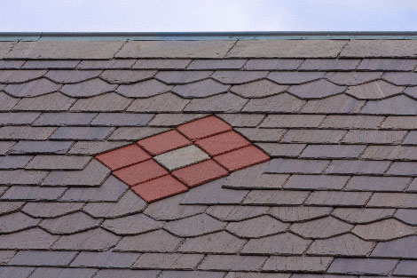 Slate roofing picture