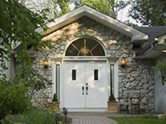 Featured Stone Siding