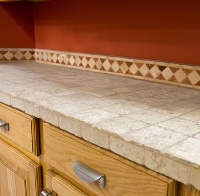 Tile Countertops Picture