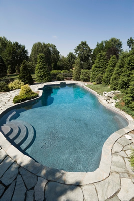In-ground pools picture