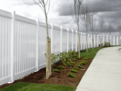 Featured Vinyl Fencing