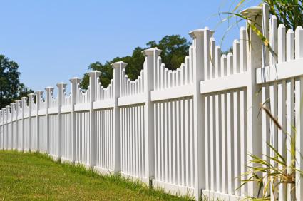 Vinyl fencing picture