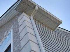 Featured Vinyl Gutters