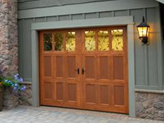 Featured Wood Garage Doors