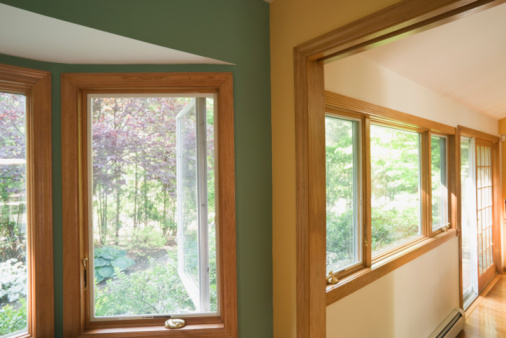 Wood Windows Picture