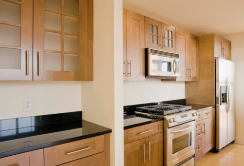 Glass cabinets picture