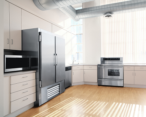 Luxury kitchen appliances