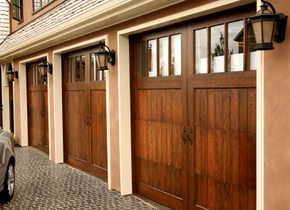 Carriage doors picture