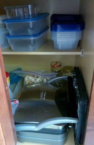 food storage organized