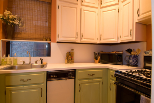 Raised cabinets picture