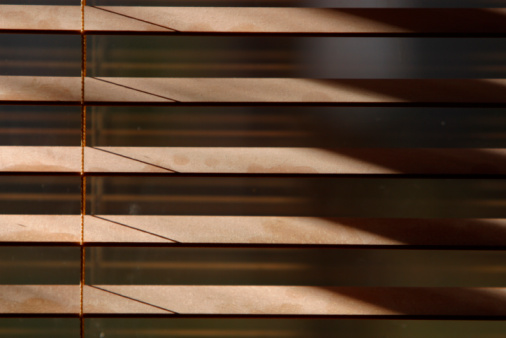 Window blinds picture