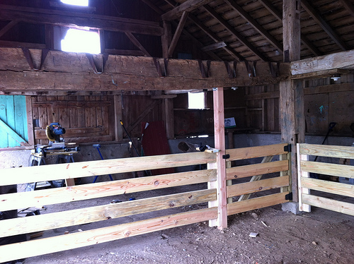 barn DIY renovation