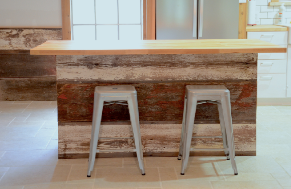 Kitchen Transformed Farmhouse To Industrial Part 6 Of 8 The Island