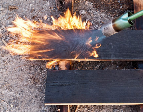 Why Charred Wood Is Great Green Choice