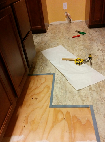 vinyl kitchen floors