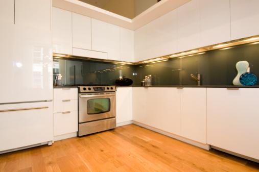Laminate cabinets picture