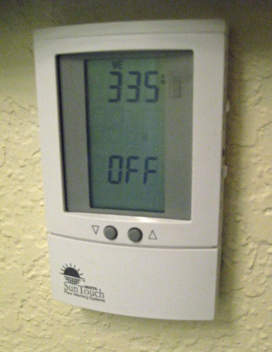 thermostat for heated tile floor