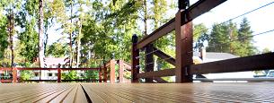 Deck floor and railings