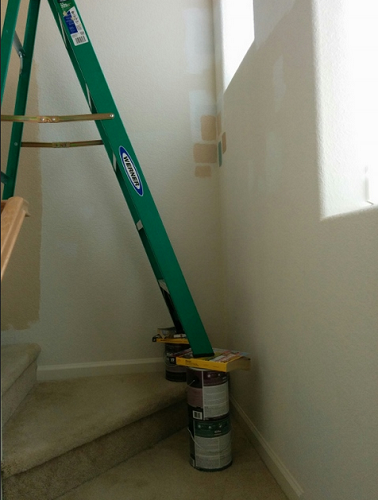 Uneven Surface Ladder