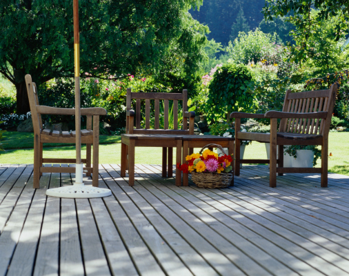 Composite decking picture