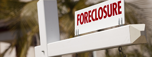 sign for a foreclosure