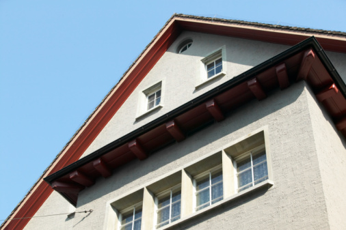 Stucco siding picture