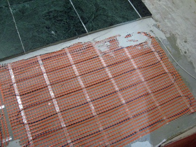 Floor Pad And Tile