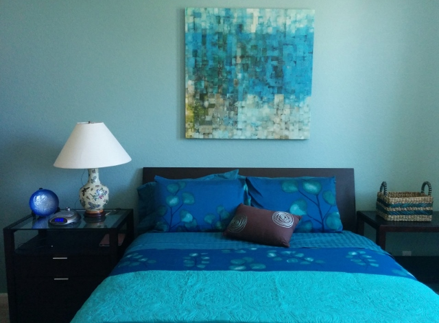 Blue bedroom walls. Painting Problems  Go Neutral or Stay Colorful