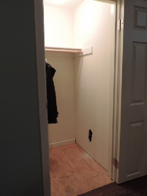 coat closet renovation