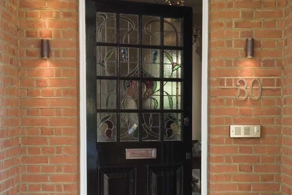 Front doors picture