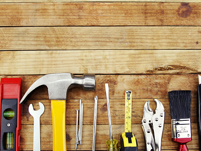 Common home improvement tools