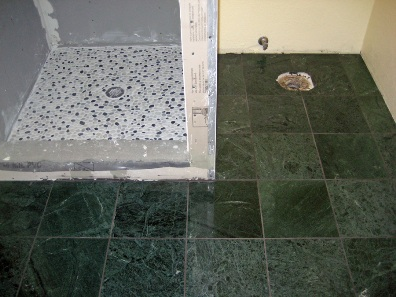 Heated Tile Floor Completed