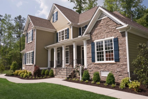 Stone siding picture