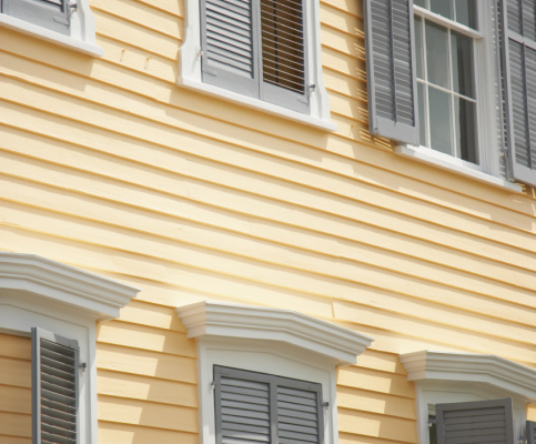 Aluminum siding picture