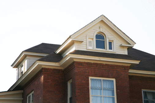 Wood gutters picture