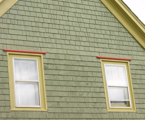 Composite siding picture