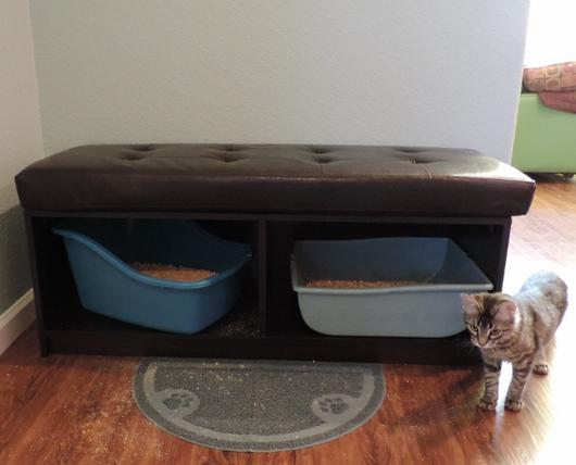 Creative Way To Hide Cat Litter Box Improvementcenter Com